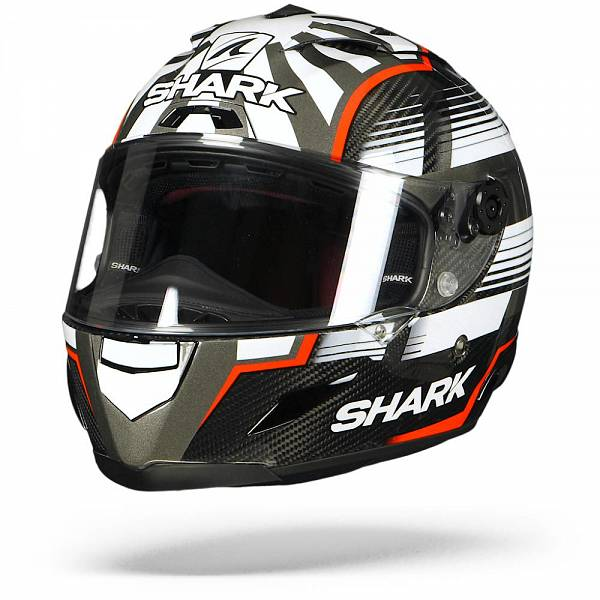 Shark Race-R Pro Carbon Zarco Malaysian Carbone Rouge Anthracite DRA L