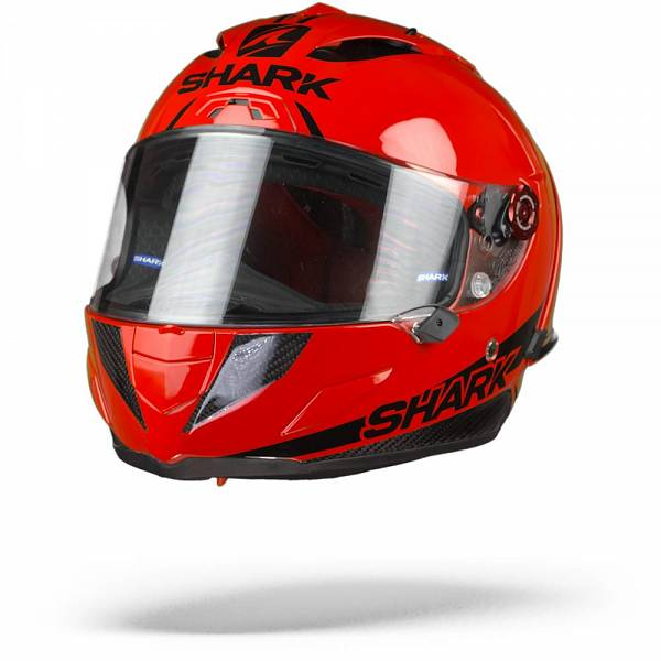Shark Race-R Pro GP Blank 30th Anniversary Casque IntŽgral Rouge Carbone Noir S