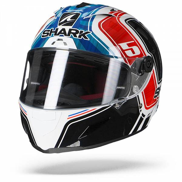 Shark Race-R Pro Zarco France GP WBR Blanc Bleu Rouge L