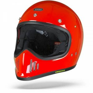 Shoei Ex-Zero Shine Red Full Face Helmet M