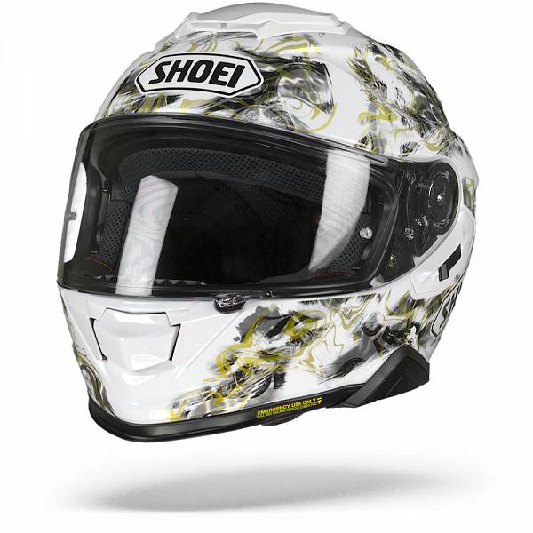 Shoei GT-Air II Conjure TC-6 Casque IntŽgral Blanc Gris Or S
