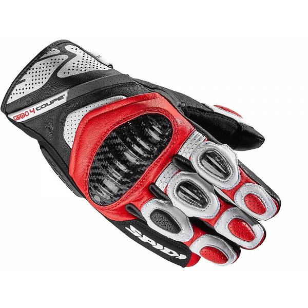 Spidi Carbo 4 Coupe Gants Rouge XL