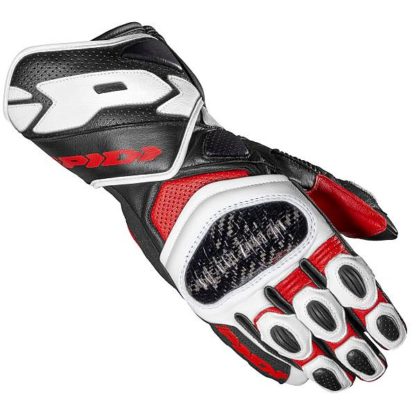 Spidi Carbo 7 Gants Rouge S