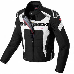 Spidi Warrior H2Out Veste Noir Blanc L