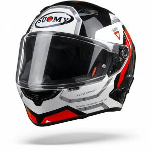Suomy Speedstar Airplane Casque IntŽgral Blanc Rouge 2XL